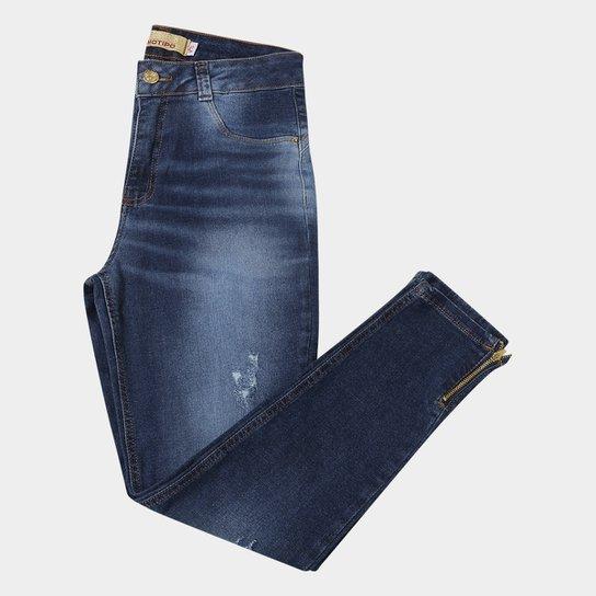 Calça Jeans Cigarrete Biotipo Plus Size Feminina - Compre Agora ... 35e6fd83424
