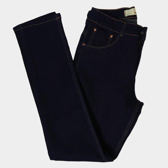 Calça Jeans Plus Size Biotipo Cigarrete Cintura Alta Feminina - Azul c954a5dcd6a