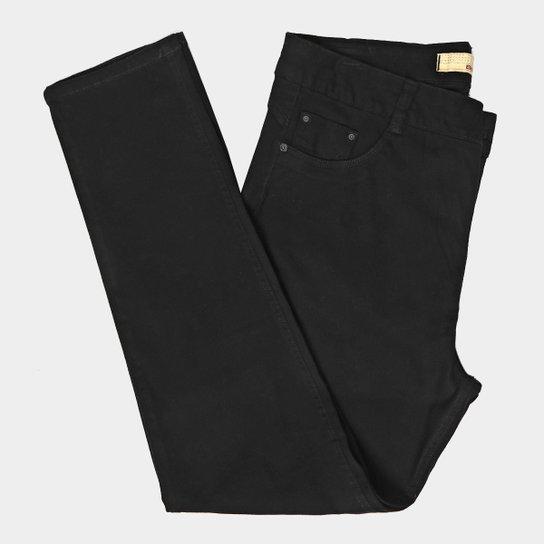 d1a5d34ad Calça Sarja Skinny Biotipo Básica Cintura Alta Plus Size Feminina - Preto