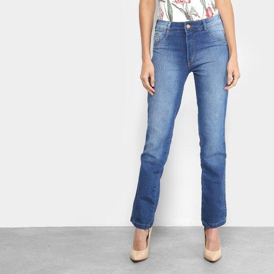 07864e4d1 Calças Jeans Cigarrete Biotipo Estonada Cintura Alta Feminina | Netshoes