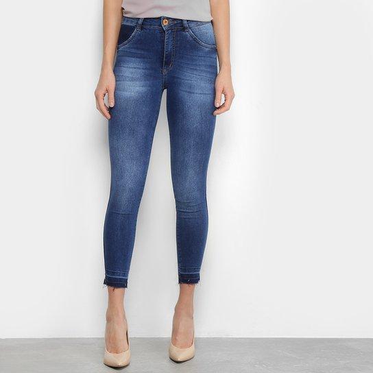 7bdc0beec Calça Jeans Cigarrete Biotipo Estonada Cintura Alta Feminina | Netshoes