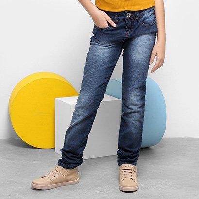 Calça Jeans Infantil Colcci Fun Katy Feminina