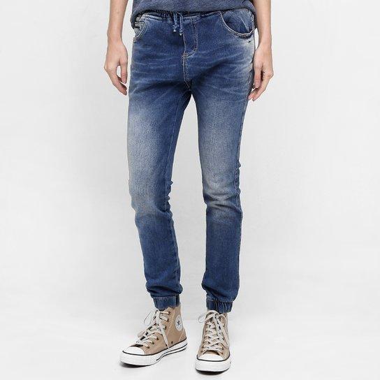 261e8cac70b Calça Uber Jeans Jogger Amarração - Jeans