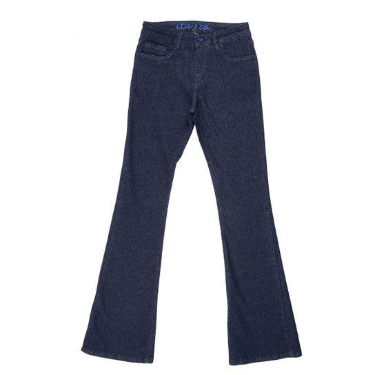 68186e1ee Calça Its&Co Alexia Bootcut - Jeans | Netshoes