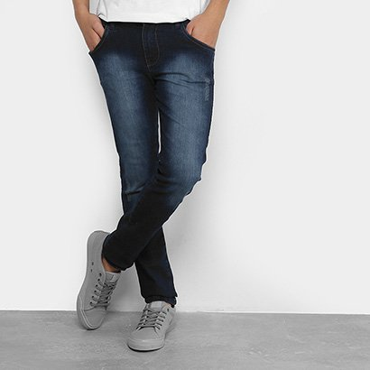 Calça Jeans Infantil GRIGLE Estonada Masculina