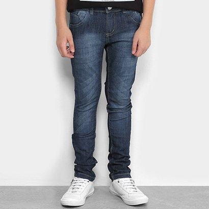 Calça Jeans Infantil GRIFLE Estonada Masculina