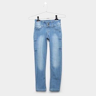 21b8998ae Calça Jeans Infantil Grifle Clara Feminina
