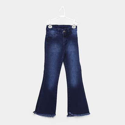 Calça Jeans Infantil Básica Grifle Feminina