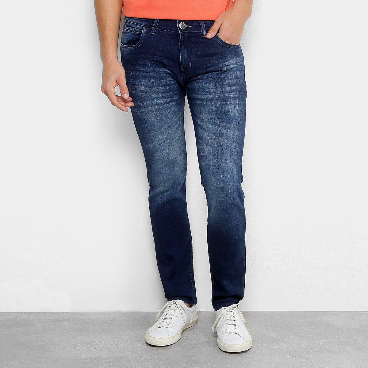 a7406b594 Calça Jeans Reta Preston Feminina