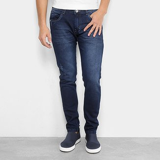 c8bfaef22551a Calça Jeans Skinny Preston Estonada Masculina