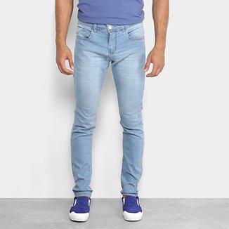 4a3668496c7 Calça Jeans Slim Preston Estonada Masculina