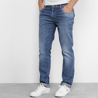Calça Jeans Skinny Lacoste Live Fit Stone Masculina 9c78615725