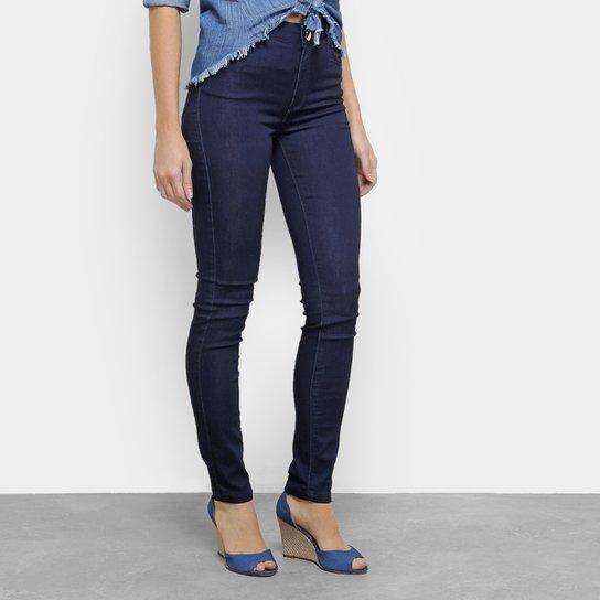 e01156848 Calça Jeans Skinny Morena Rosa Andreia Cintura Alta Feminina - Azul Escuro