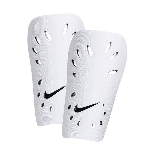 67e24d405f Caneleira Futebol Nike J Guard - Branco e Preto - Compre Agora ...