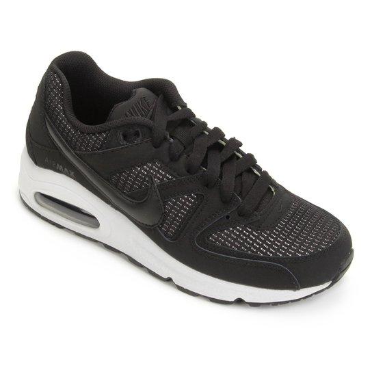 best sneakers 01af1 d4639 Tênis Nike Air Max Command Masculino - Preto+Branco