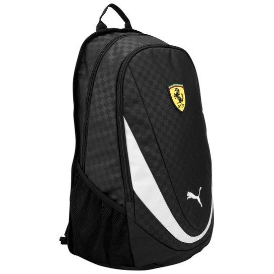 77d44834b Mochila Puma Ferrari - Preto+Branco