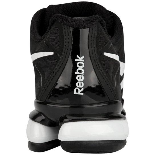 65e0140e4b4 ... Tênis Reebok Galaxy Full DMX Masculino - Preto+Branco ...