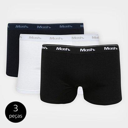 Kit de Cuecas Boxer Mash 3 Peças