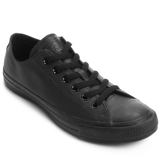 f952ba5579b59 Tênis Converse ALL STAR Player Leather - Preto+Chumbo