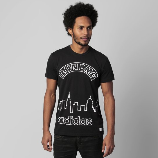 5671ef79d3 Camiseta Adidas Originals RUN DMC Graphic CL - Compre Agora