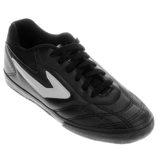 3a7eaec437 Chuteira Futsal Topper Dominator 3 - Preto e Branco - Compre Agora ...