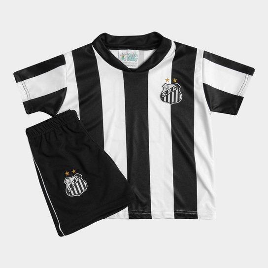 Conjunto Santos Infantil Torcida Baby - Compre Agora  b13f4315bfe33