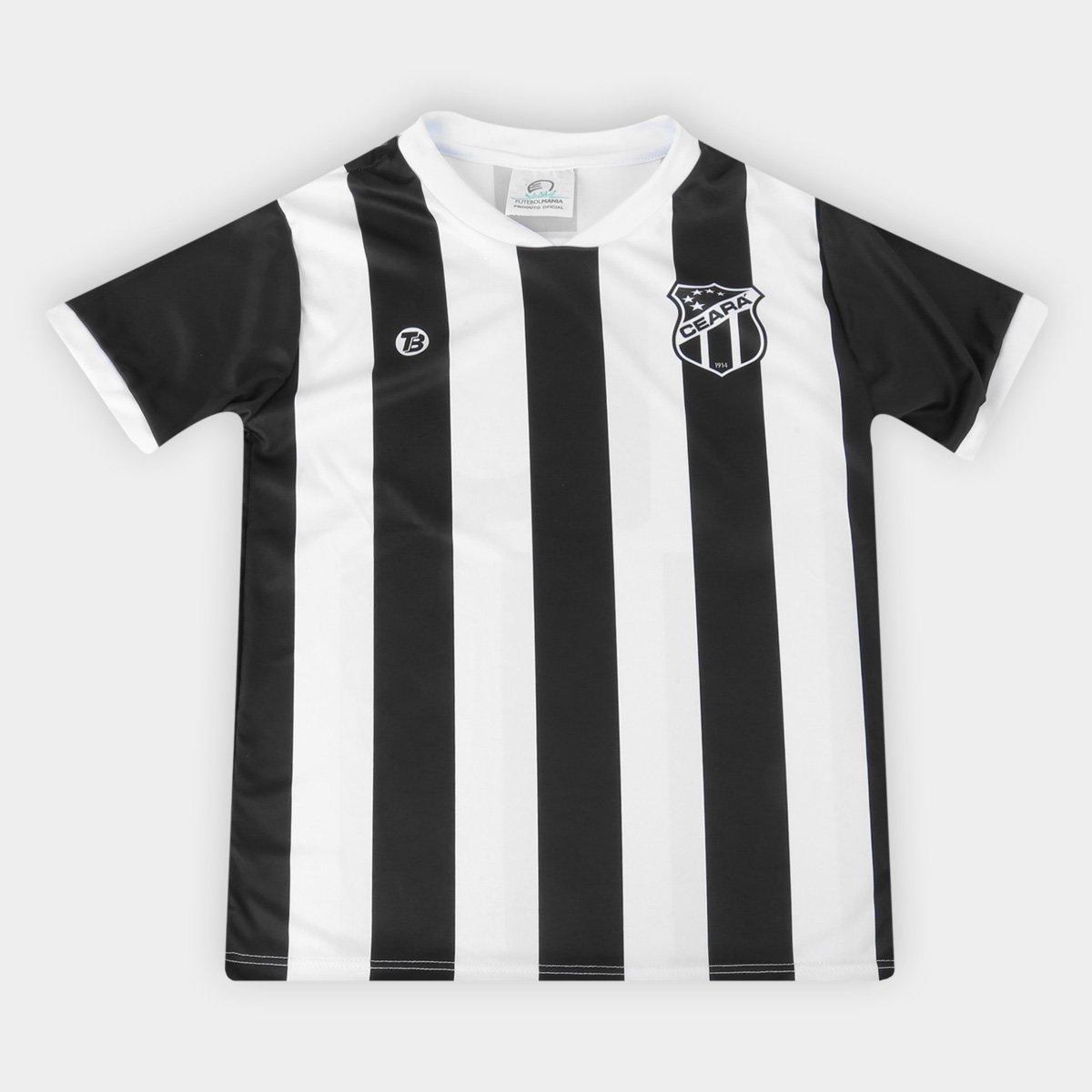 Camiseta Ceará Infantil Torcida Baby Sublimada