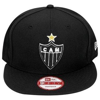Boné New Era Atlético-MG Aba Reta 9Fifty Masculino eec41c3ae79
