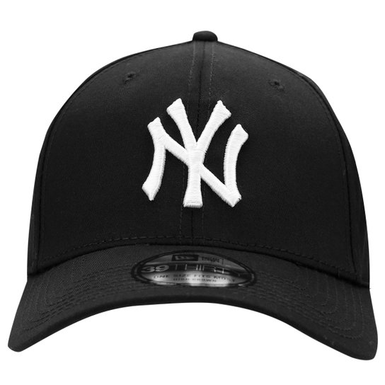 fa109fafca289 Boné New Era 3930 MLB New York Yankees - Preto e Branco - Compre ...