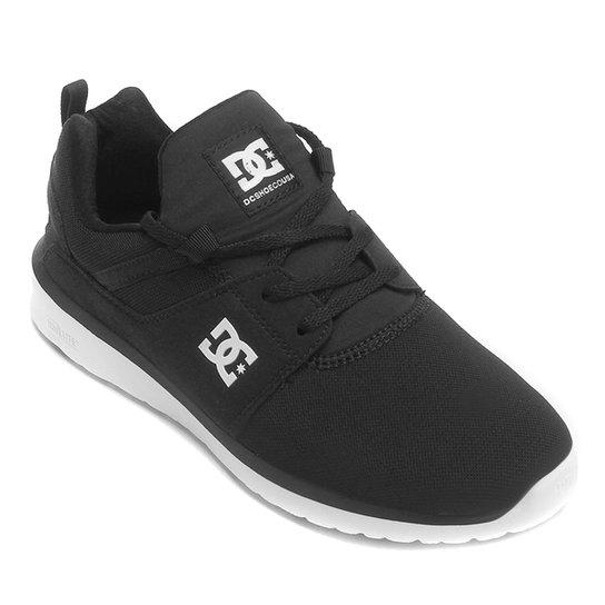 Tênis DC Shoes Heathrow Masculino - Preto e Branco - Compre Agora ... 983382cc906
