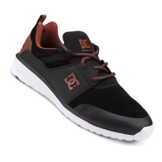 c98f1d2874 Tênis DC Shoes Heathrow Prestige Masculino - Preto e Branco - Compre ...