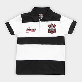 ab92206c27fcd LANÇAMENTO · Camisa Polo Infantil Corinthians Democracia 1983