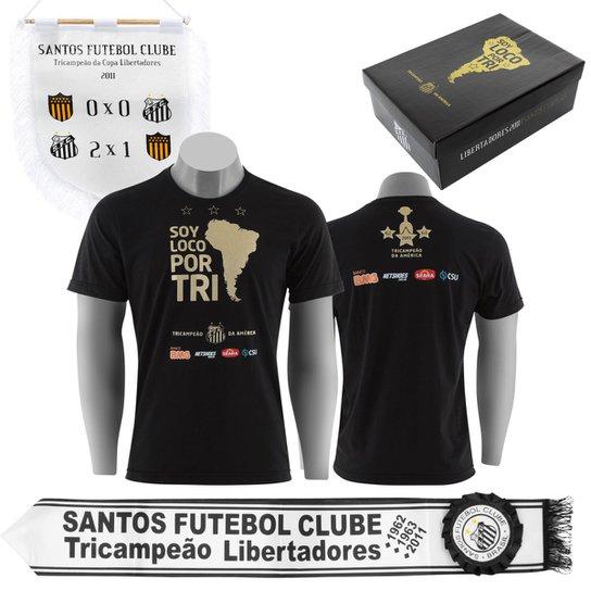 dbe7bd326d Kit Santos Campeão da Libertadores de América 2011 - Compre Agora ...