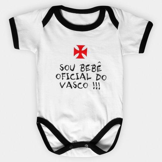 Body Infantil Vasco Oficial - Compre Agora  1bc8c9b8caf63