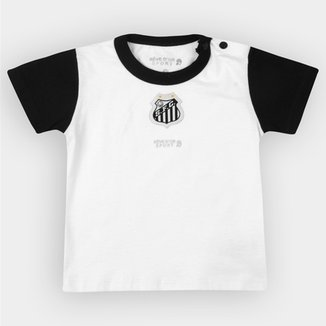 Compre Camisa do Santos Masculina Azul Bebe Online  dafa940329513