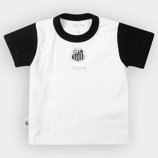 Compre Camisa do Santos Infantil Online  526ea572b3a44