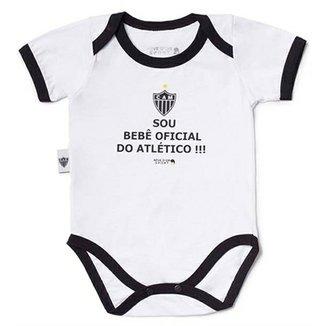 6eb5da7787f0d Body Bebê Oficial Meia Malha Unissex Atlético Mineiro Reve Dor