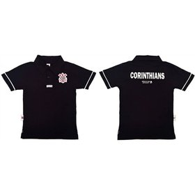 Camisa Polo Corinthians Infantil - Compre Agora  bdb45fb83528d
