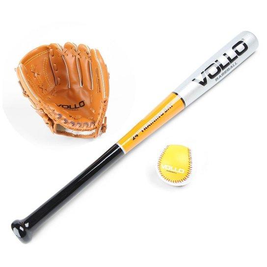 95899df4daaa8 Kit Baseball Vollo Infantil - Preto e Branco - Compre Agora