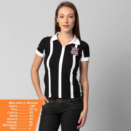 7ad15c9948be1 Camisa Polo Corinthians Réplica 1953 - Compre Agora