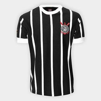 Camisa Retrô Corinthians Réplica 1977 Masculina bae1758313022