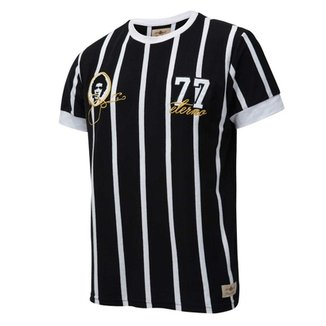 Camisa Corinthians Retrô Gol Basílio Torcedor Masculina 7967462a2a568