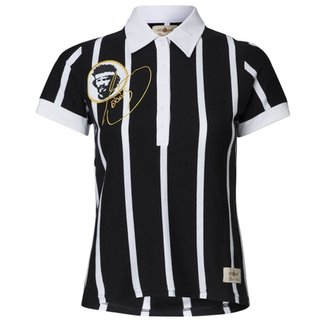 02490624ff Camisa Baby Look Retrô Gol Sócrates Ex - Corinthians Feminina