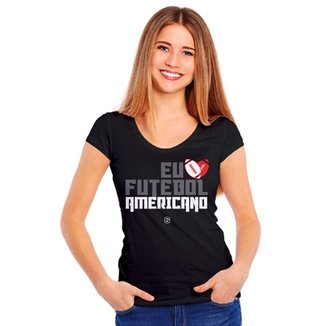 be3d631829 Camiseta Eu Six Points amo Futebol Americano