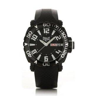 Relógio Masculino Everlast Pulseira Silicone Analógico f4cf0a1679
