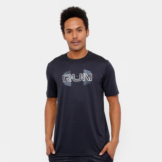 f432de1e2bf Camiseta Under Armour Run Overlap Logo Masculina - Compre Agora ...