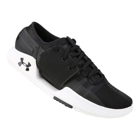 506d89f769c Tênis Under Armour Speedform AMP 2.0 Masculino - Preto e Branco ...