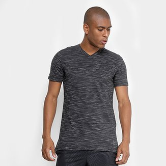 Camiseta Under Armour Sportstyle Core V Neck Masculina