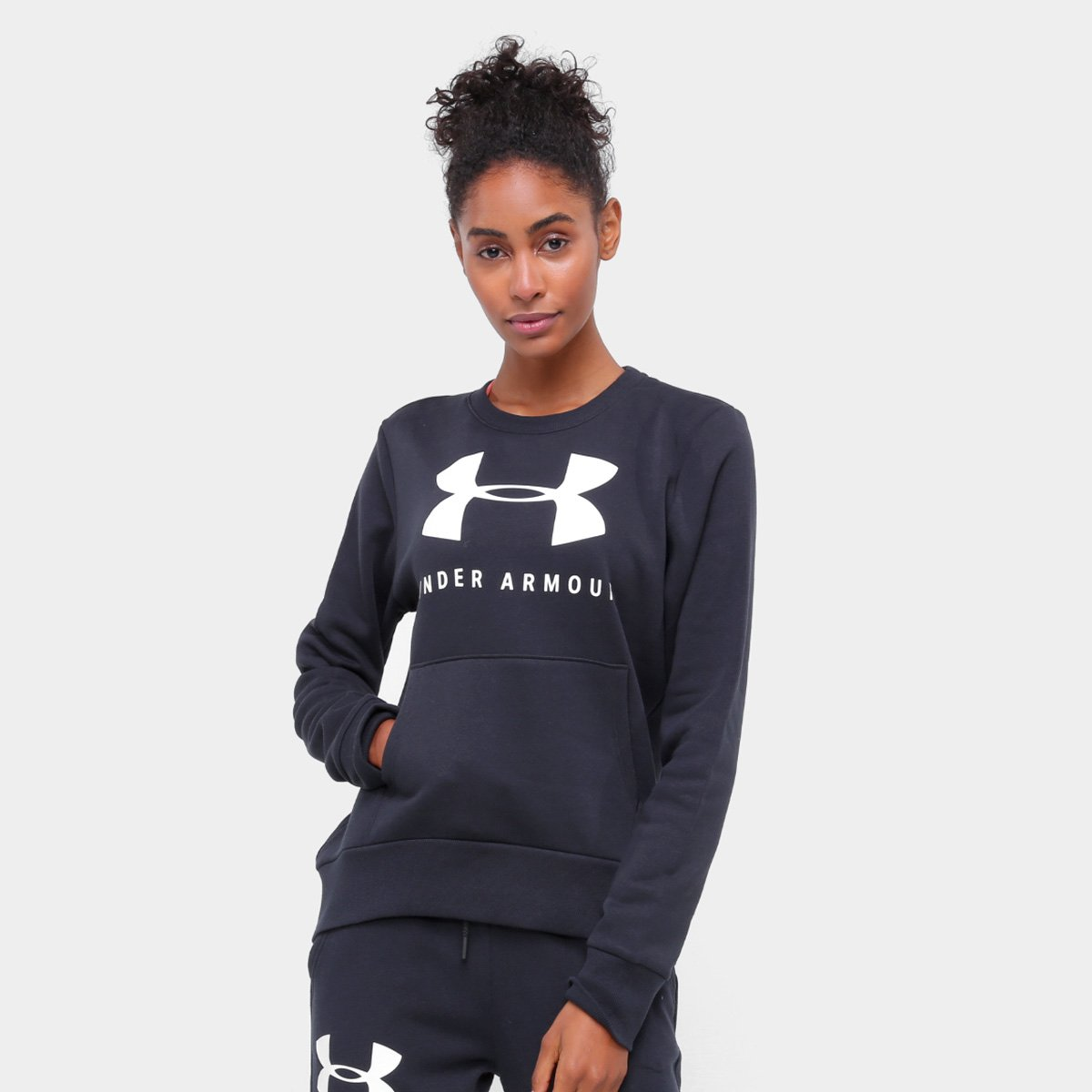 Moletom Under Armour Rival Fleece Sportstyle Feminino