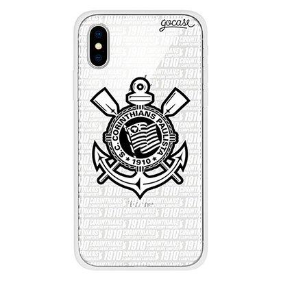 Capa de Celular Corinthians Campeão - Para Iphone X